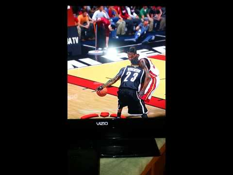 Chopped Joel Anthony and dunked My Player Relly