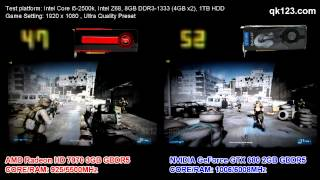 NVIDIA GeForce GTX 680 VS AMD Radeon 7970