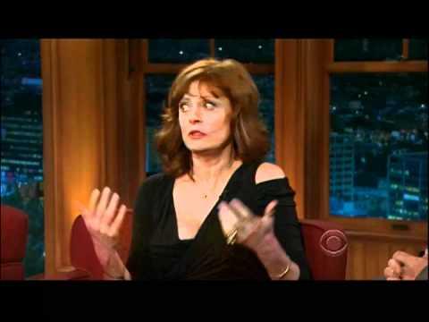 Craig Ferguson 3/7/12D Late Late Show Susan Sarandon