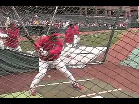 Baseball Pros Swing Analysis   Albert Pujols