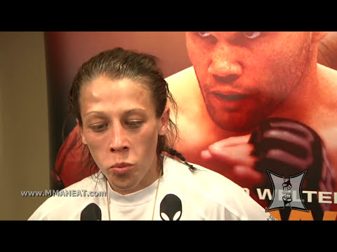 UFC ON FOX's Joanna Jedrzejczyk On Debut Win Over Juliana Lima