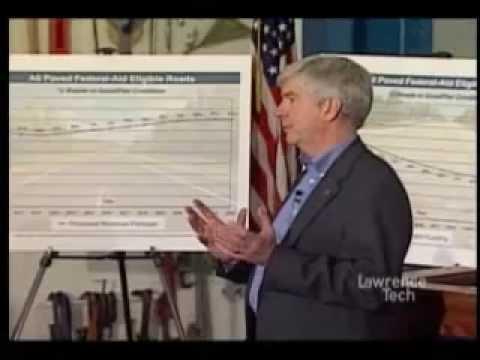 Gov. Rick Snyder's infrastructure plan