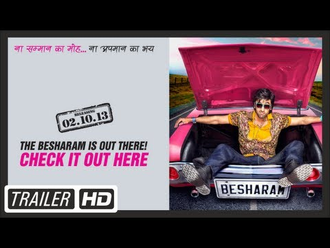 Besharam Film Official Trailer | Ranbir KapoorPallavi Sharda...