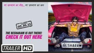 Besharm - Besharam Film Official Trailer | Ranbir Kapoor,Pallavi Sharda | HD