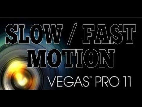 Как сделать slow motion в sony vegas pro