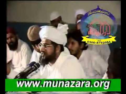 MUNAZARA GUSTAKH KON(LAHORE) MOLVI SADIQ KHAN KOHATI VS GHULAM...
