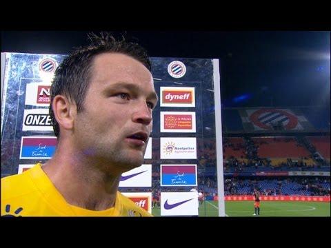image vidéo  Interview de fin de match : Montpellier Hérault SC - AS Saint-Etienne (1-1)
