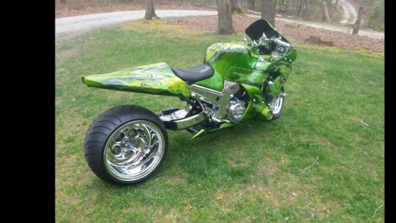Radical Kawasaki Ninja ZX14 Motorcycle, Turbo, 330 Rear ...