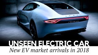 10 Groundbreaking Electric Cars by Arising Tesla Rivals and Auto Start-ups