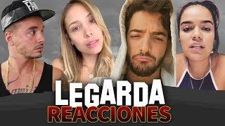Legarda Reacciones Luisa Fernanda W J Balvin Maluma Karol G