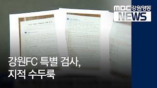 R)강원FC 특별 검사, 지적 수두룩