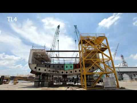 Teekay - Time Lapse of Keel Laying