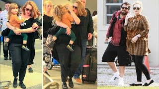 Adele With Her Boyfriend And Son And  Their Beautiful Moments Together  �