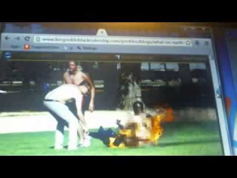 Black Man Sets Himself On Fire in Washington DC Out of Hatred towards White Supremacy