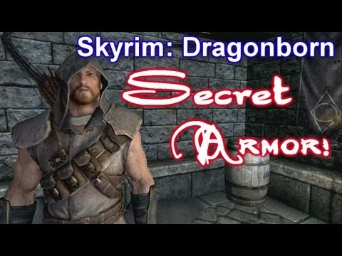 Skyrim Dragonborn DLC - SECRET ARMOR SET