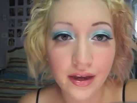 CINDERELLA: Disney Princess Inspired Makeup Tutorial Icy Blue False Lashes