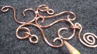Copper and ornaments