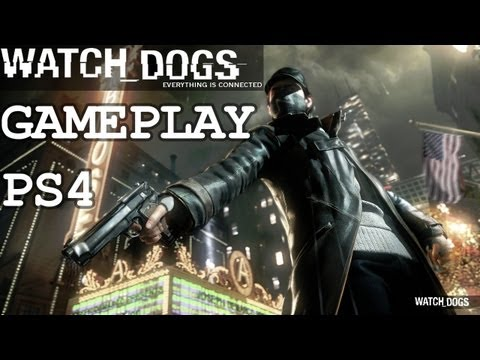 Watch Dogs - Gameplay Walkthrough - 2013 Playstation Meeting (PS4) [HD]