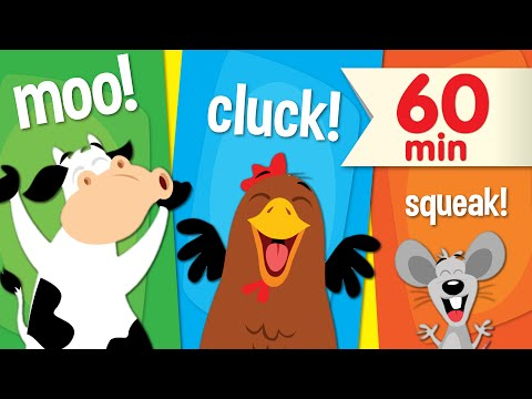 Animal Sounds Songs | + More Super Simple Songs for Kids thumbnail