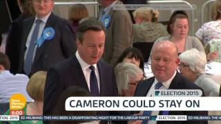 [HD] ITV News handover to Good Morning Britain: Election 2015