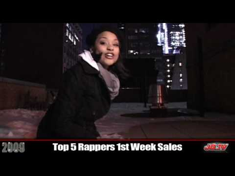 Best Rappers First Week Sales 2009 - Year In Review