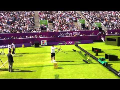 2012 Olympics: Archery Gold Medal match - Oh Jin Hyek v Furukawa Takaharu