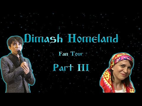 Dimash Homeland Fan tour 2018 - Part 3 - Aktobe, Baqytty bala, Dimash performing!  [PL/ENG/RUS]