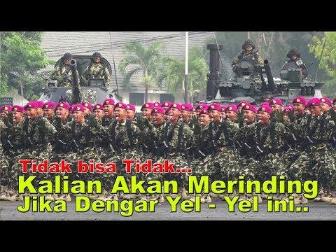 MERINDING RIBUAN Prajurit Korps Marinir Menggaung