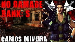 Resident Evil 3 The Mercenaries Carlos No Damage (Rank S)