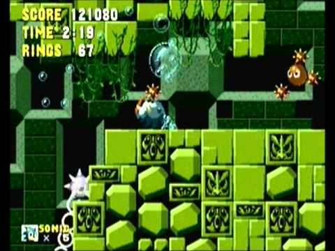 Misc Computer Games - Sonic The Hedgehog - Labyrinth Zone
