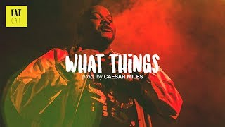 (free) 90s old school boom bap type beat x sampled instrumental | 'What Things' prod by CAESAR MILES