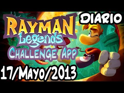 [Rayman Legends: Challenge App] Reto Diario Normal+Extremo 17/Mayo/2013