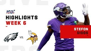 Stefon Diggs POPS OFF for 167 Yds & 3 TDs | NFL 2019 Highlights