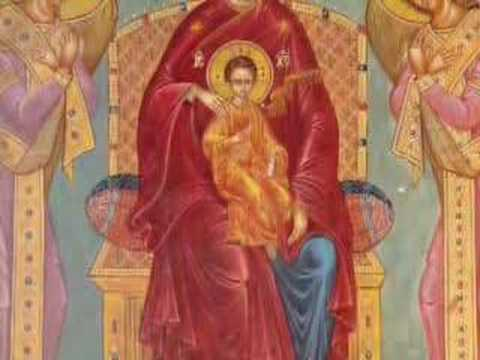 Greek Orthodox Christian Byzantine Chant 4 (Theotokario, Θεοτοκάριο)