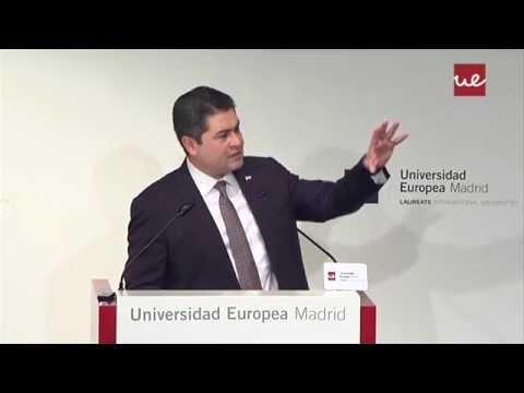 Conferencia magistral del Presidente de Honduras, Juan Orlando Hernández