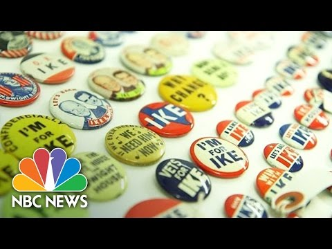 2016 Primary Becomes American History At Smithsonian National Museum | Press Pass | NBC News
