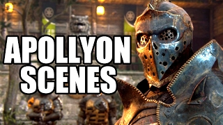 FOR HONOR - All Apollyon Scenes