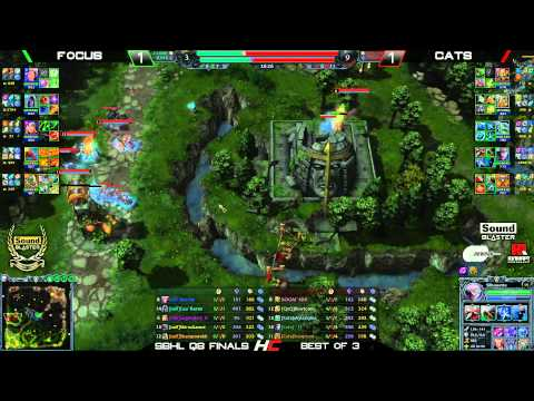 Sound Blaster Heroes League Quali CIS/SEA - Cats vs nxlF game 3
