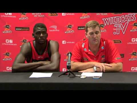 Perth Wildcats - Gleeson and Ennis post Adelaide press conference - 14 February 2014