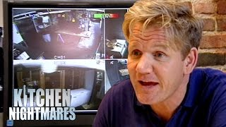 Owner Loves to Watch CCTV of People Falling Over | Kitchen Nightmares
