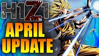 BIGGEST H1Z1 UPDATE YET! ALL NEW APRIL UPDATE - Team Follow Cam and MORE! (April Patch Notes)