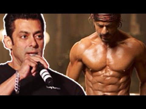 Salman Khan PRAISES Shahrukh Khan's 8 PACK ABS in Happy New Year