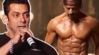 Salman Khan PRAISES Shahrukh Khans 8 PACK ABS in Happy New Year