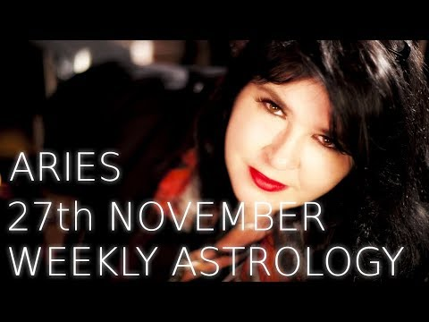 Aries Weekly Astrology Forecast 27th November 2017