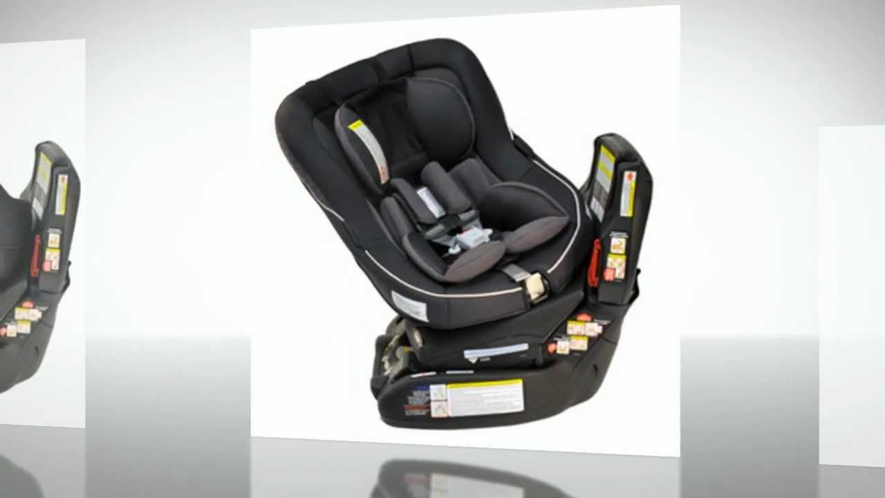 Swivel Car Seat >> Combi Zeus 360 Convertible Car Seat Licorice Review - YouTube