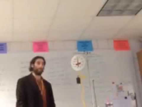 Physics substitute teacher taped teaching conspiracy theories in Detroit high school classroom