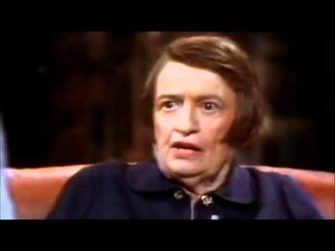 Ayn Rand Atheist Thanks God for The United States