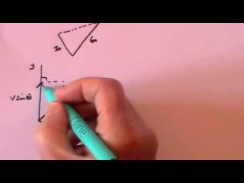 Adding and subtracting vectors gcse