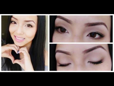 Fresh Natural Makeup (Especially for Asian Eyes)