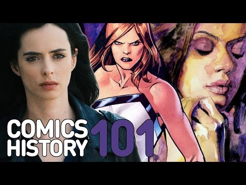 Comics History 101: Who Is Jessica Jones?